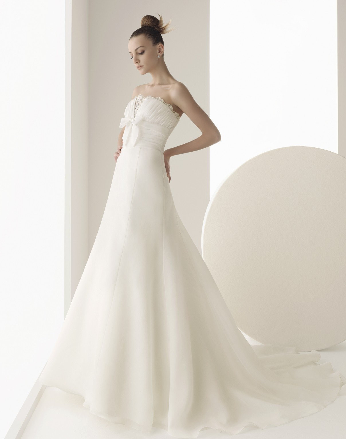White bridal gown by Peter Trends Bridal