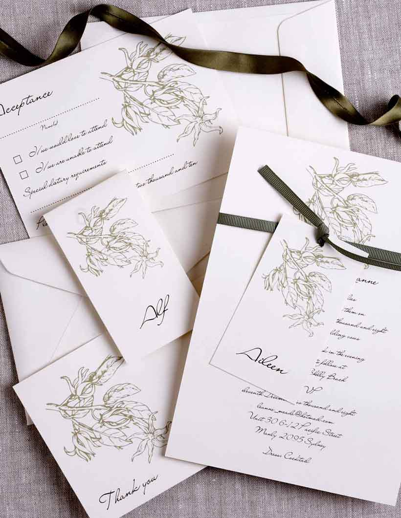 DIY Wedding Invitations - Pulp Creative Paper