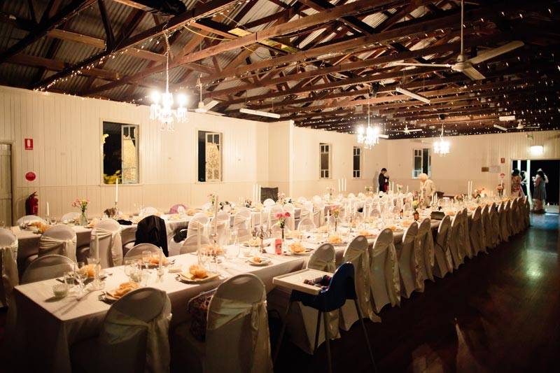 Wedding Reception Venue - Samsonvale District Community Hall.