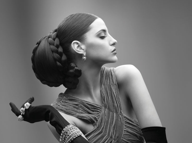 Hair: Lorna Evans, Zumay Salons, Makeup: Victoria Hull & Joanna Blair, Photography: Peter Coulson, Styling Elaine Marshal