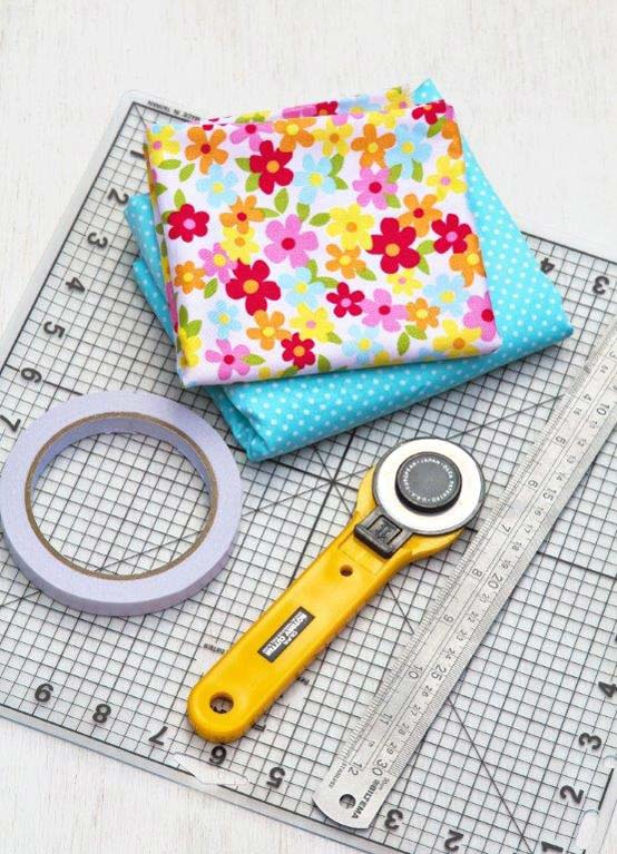 DIY Fabric Sticky Tape
