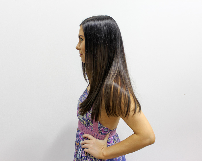 Great Lengths New GL Apps Tape Hair Extensions Review and Results side