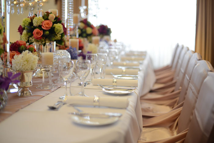 Wedding Styling at The Epping Club