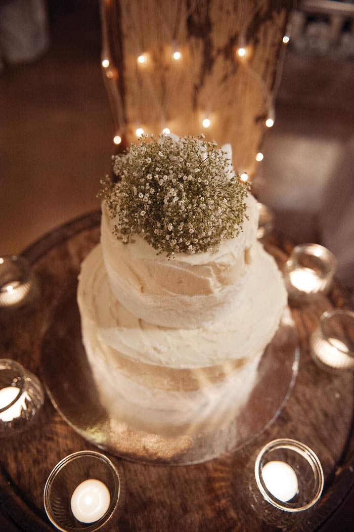 Lights Wedding Cake