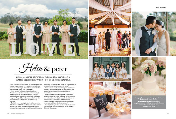 Helen and Peter Real Wedding