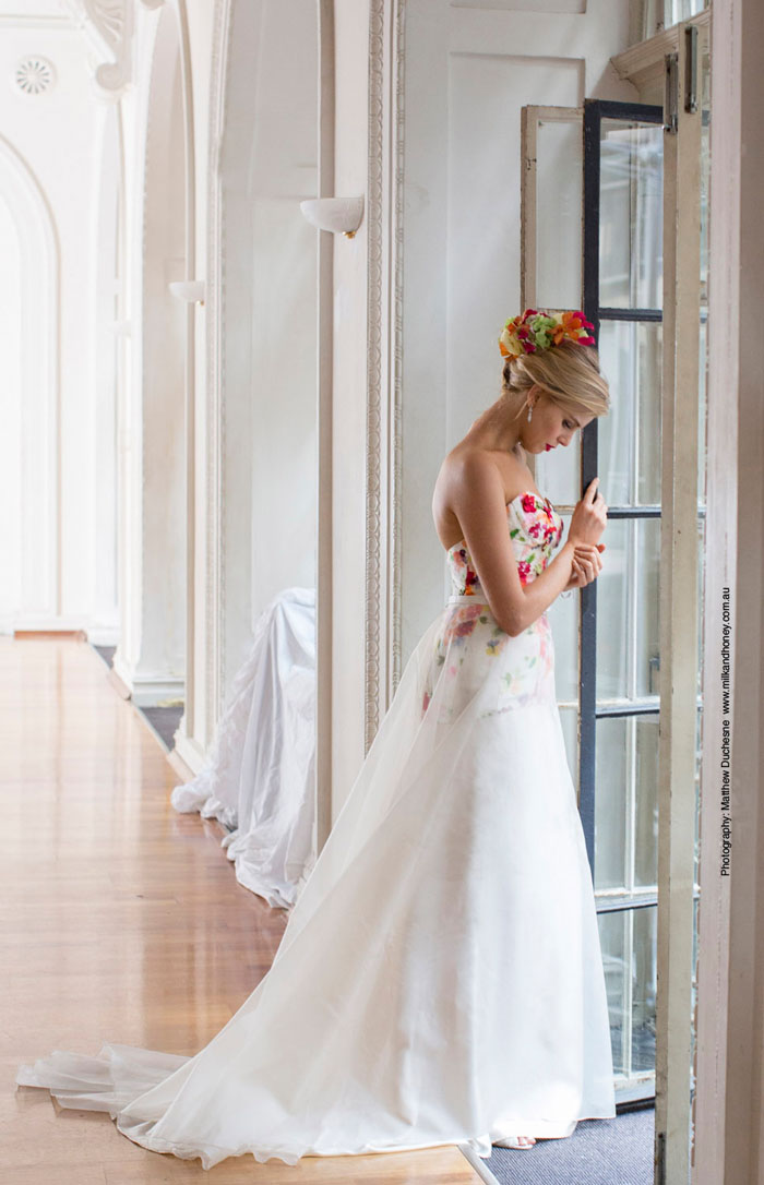 Clementina wedding Dress by Louise Alvarez