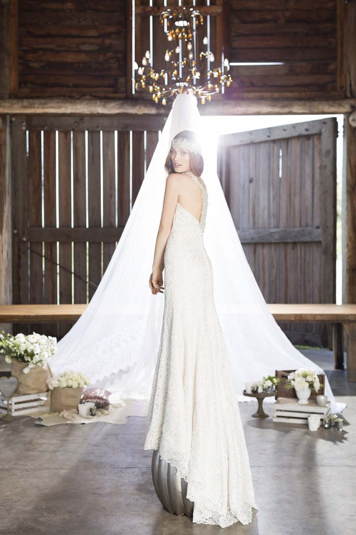 Wedding Dress by Roz La Kelin