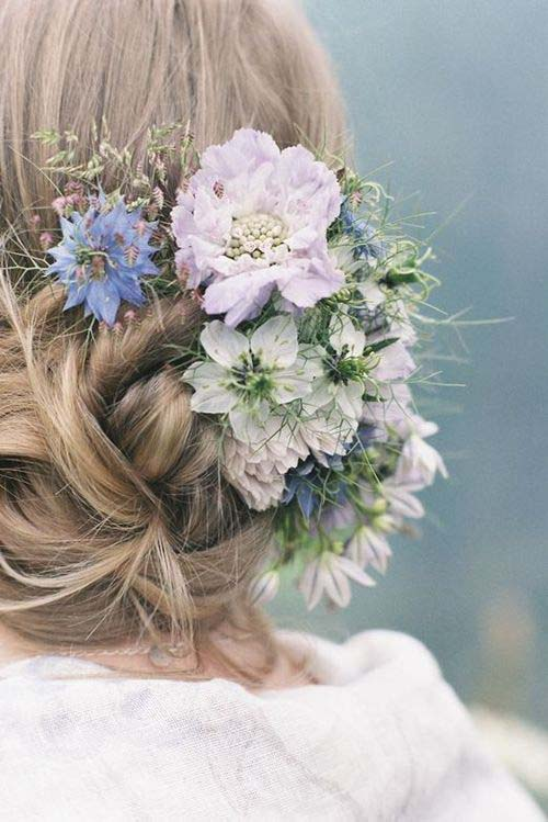 Wedding Hair Flower Ideas 13
