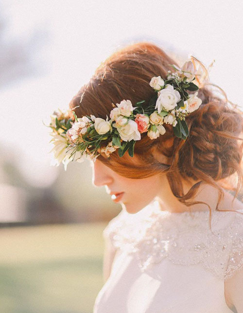 Wedding Hair Flower Ideas 5