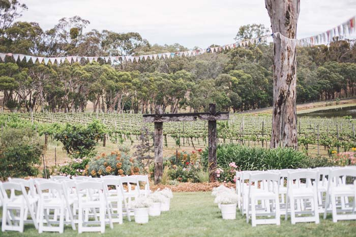 William And Sophies Outdoor Wedding In The Adelaide Hills