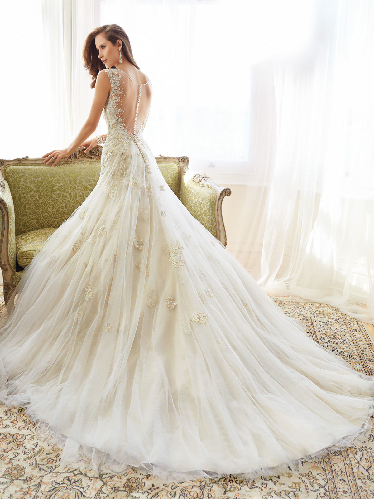 Sophie S Squishy Collection : Sophia Tolli Spring 2015 Collection