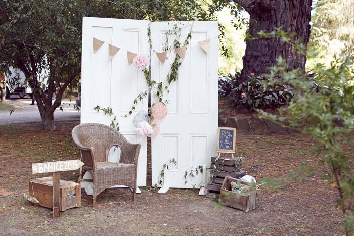 Outdoor Wedding Photobooth