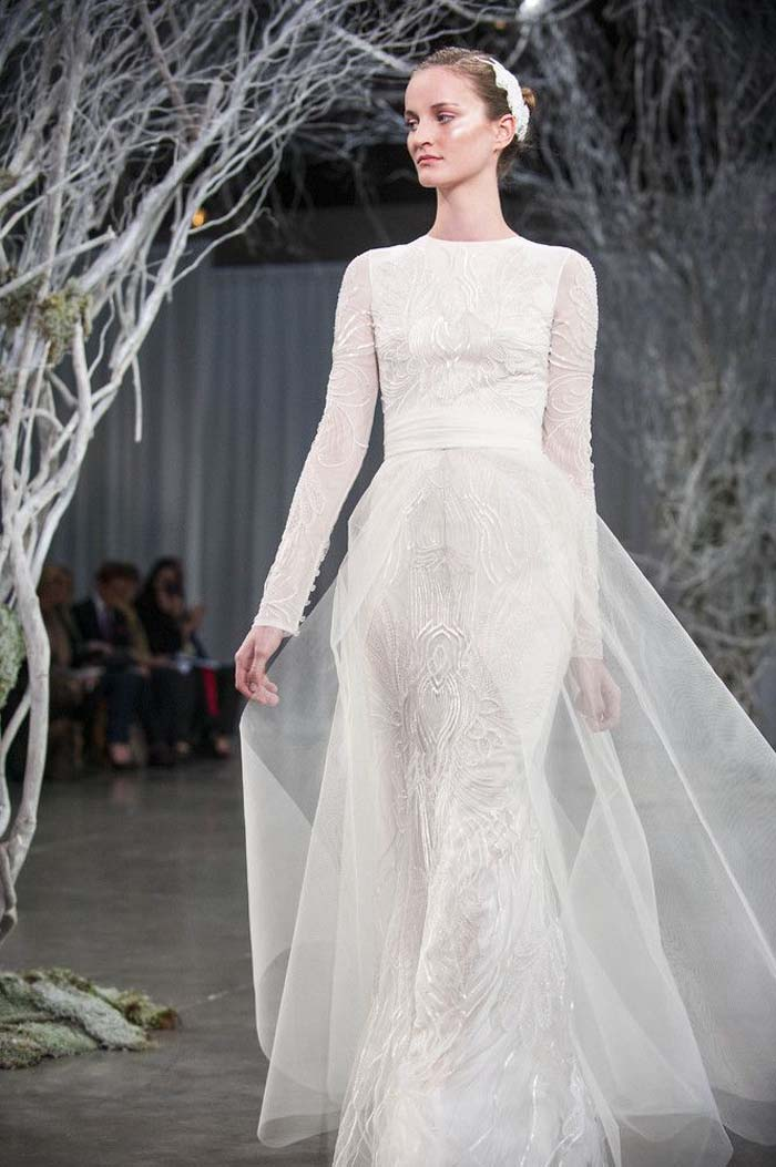 The Loveliest Long Sleeved Wedding Dresses
