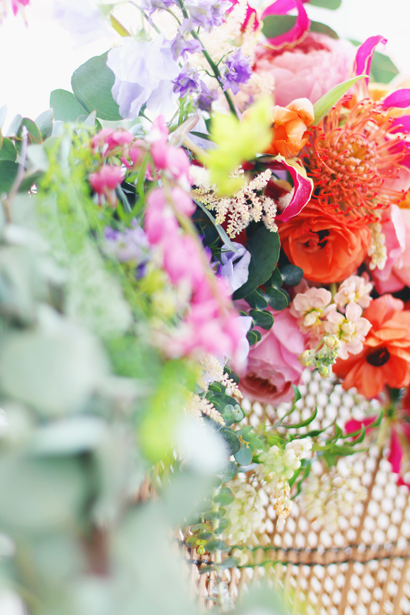 Bright Floral Wedding Styling