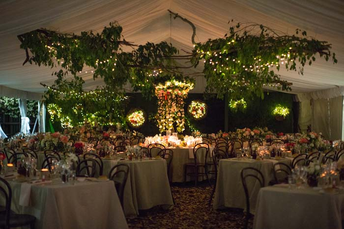 Enchanted Garden Wedding Marquee