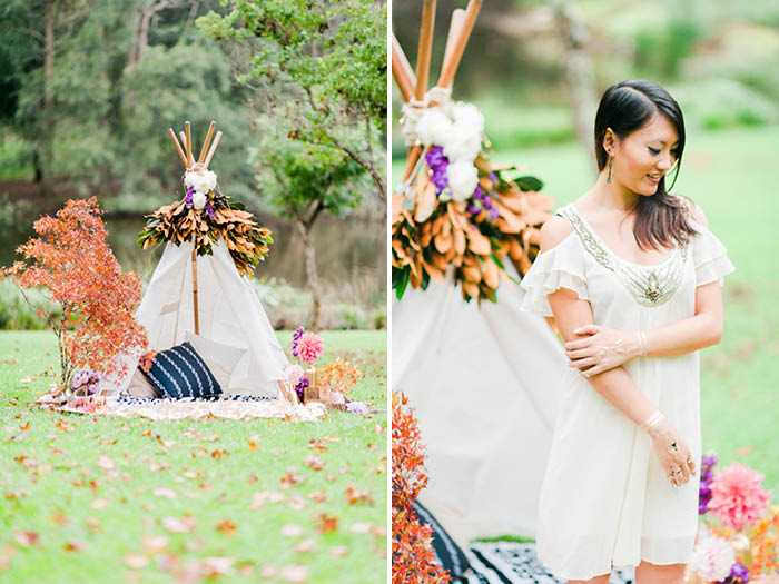 Bohemian Autumn Anniversary Shoot