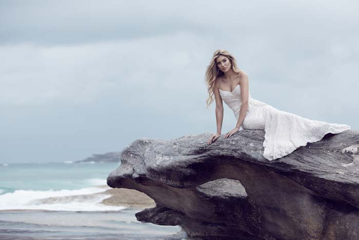 Beach Wedding Dress by Karen Willis Holmes