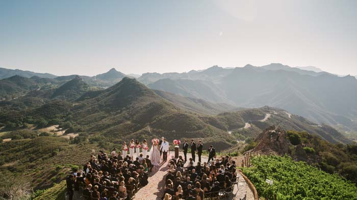 Wedding Ceremony in the Mountains