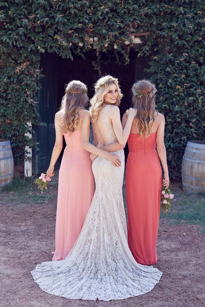 Wedding Dress by Wendy Makin Bridesmaids' Dresses by Bridesmaids' Only