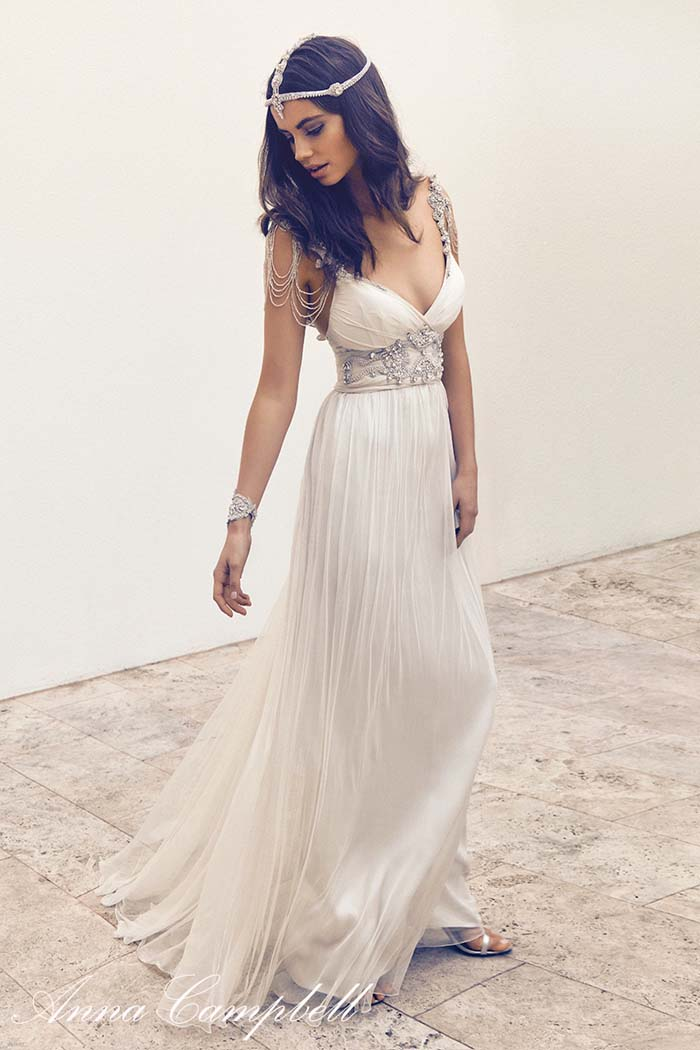 Anna Campbell Wedding Dress Gossamer Collection
