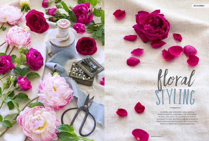 Modern Wedding DIY Floral Styling