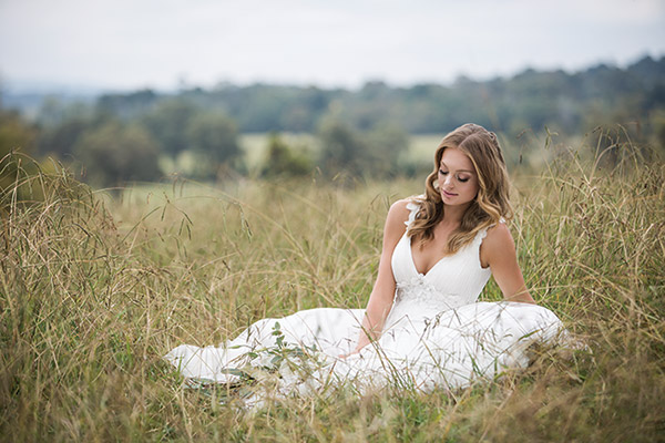 Wedding Dress by Wendy Makin Bridal Designs