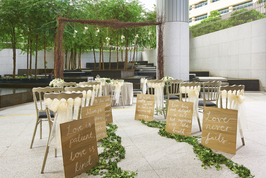 weddingOHS Wedding - Solemnisation at Courtyard