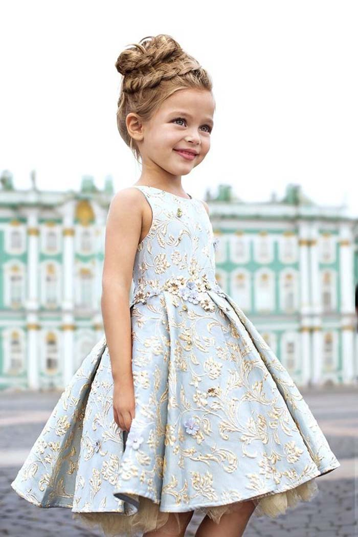 35 unbelievably cute flower girl dresses for a spring for Girls dresses for a wedding