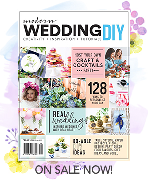 Modern Wedding DIY Magazine