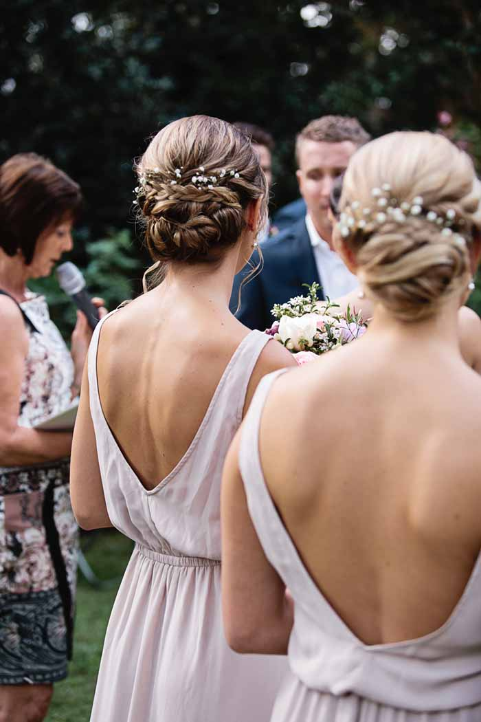 bridesmaids hair