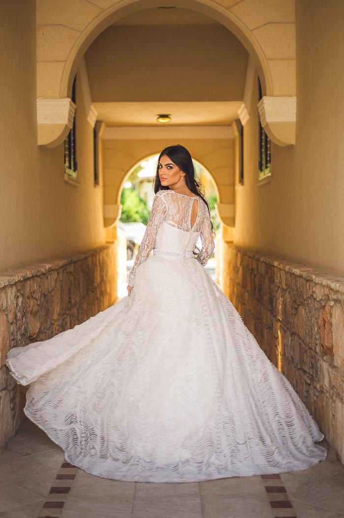edgy romantic wedding inspiration dress