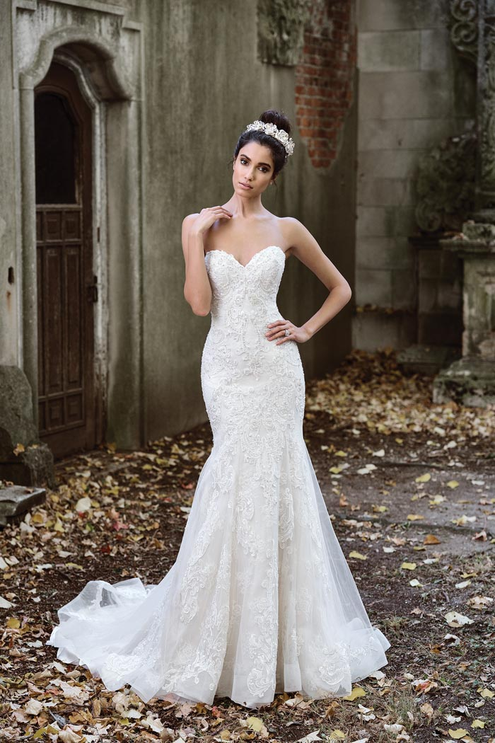 Justin Alexander Signature Collection Bridal Gown Strapless