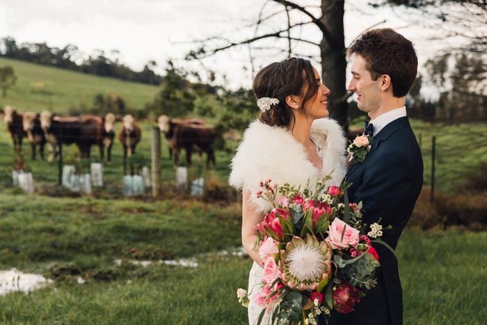 Country Wedding at Immerse in the Yarra Valley Kelly & Sam 4 - Georgia Wiggs Photography