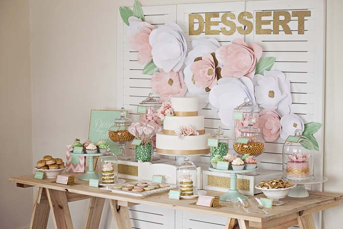 DIY Wedding Dessert Table