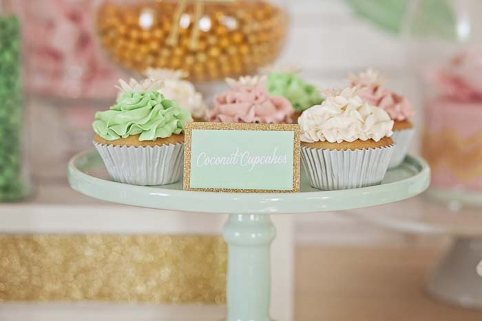 Wedding Dessert Table Cupcakes