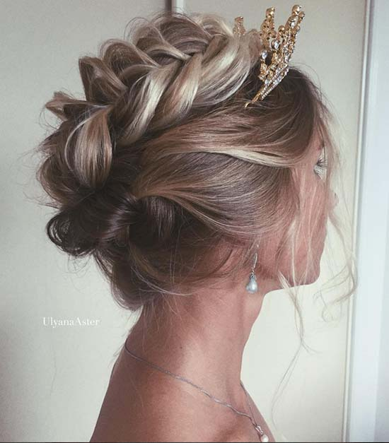 Wedding Hair by Ulyana.Aster