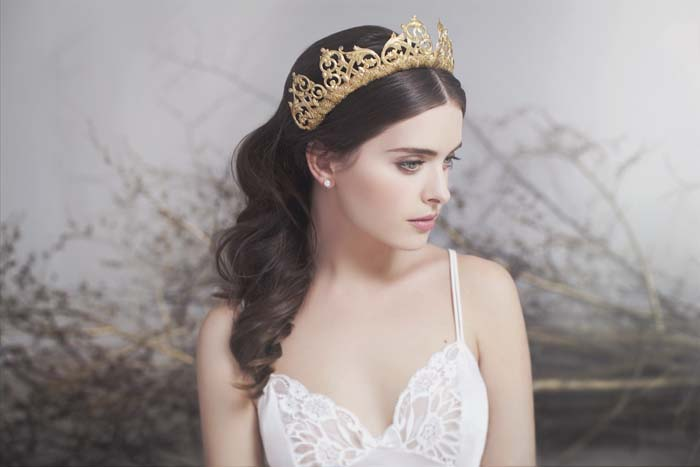 Viktoria Novak Bridal Couture Headpiece Collection
